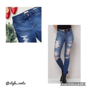 👖PACSUN Destroyed Jegging Jeans👖